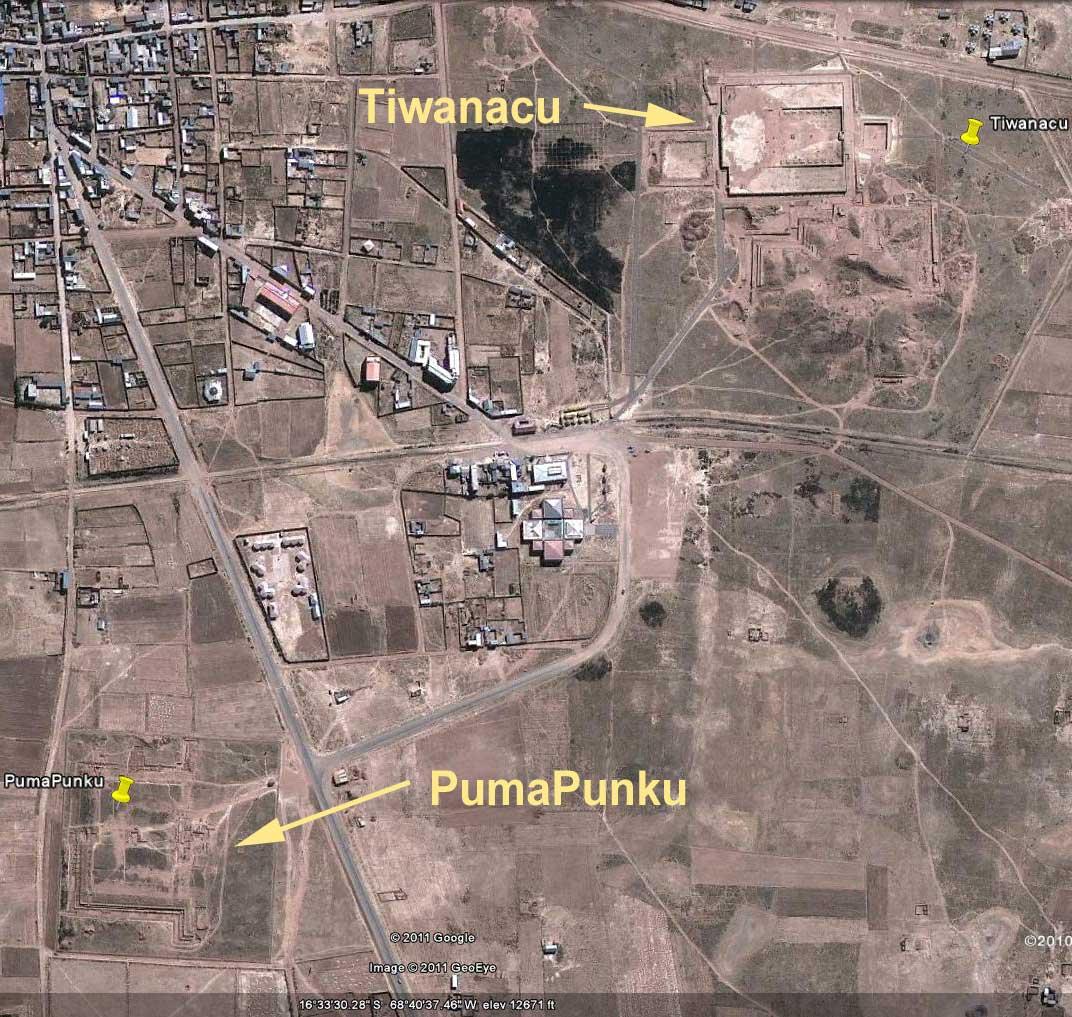 What City Is Near Puma Punku