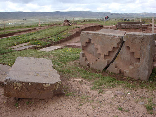 stone blocks at Puma Punku