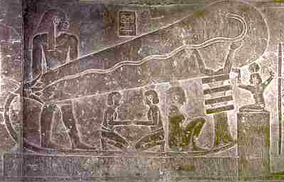 In The Temple Of Hathor At Dendera Several Dozens Kilometers North Luxor There Are Reliefs Interpreted By Some Experts As Lamps