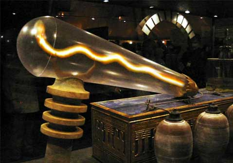 Lights Of The Pharaohs The Electric Lights In Egypt World Mysteries Blog