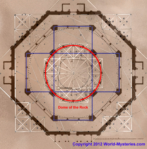 Post image for The Dome of the Rock and the Sun-Star and Cross at Nazca Connection