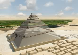 pyramid of giza construction