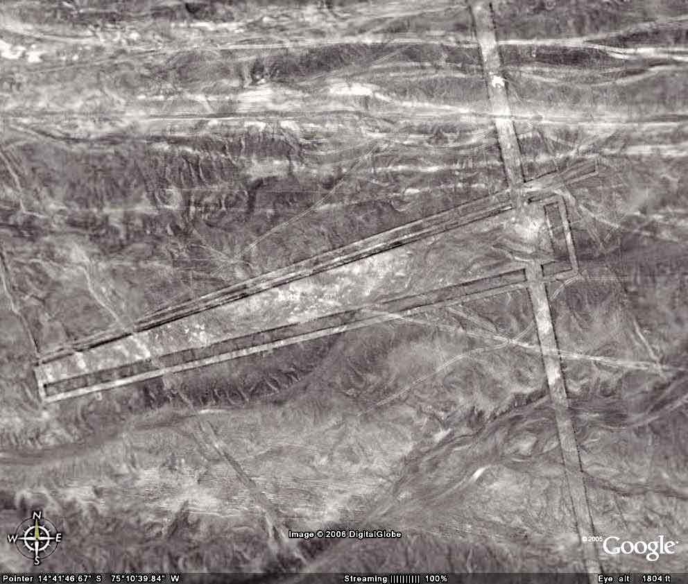 Drawing Lines With Google Earth : Top ancient achievements that science can t explain