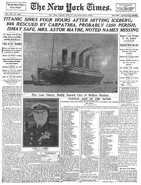 "Insane Coincidences – The ""Titanic"" Disaster Story 30"