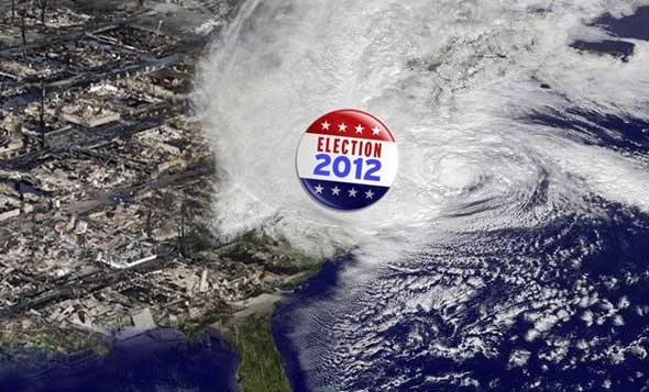Post image for October Surprise – Hurricane Sandy Wins the Election!