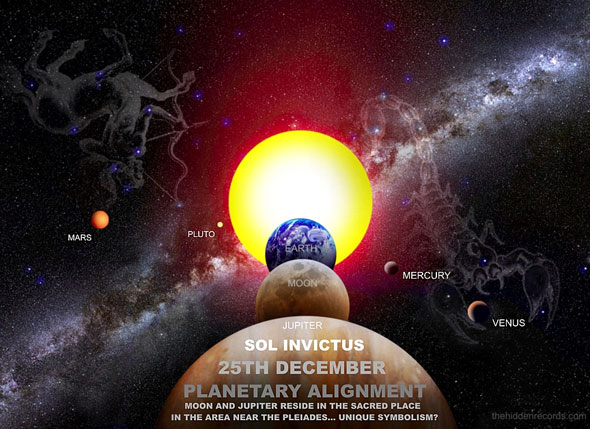 Post image for Prophecies and December 2012 Planetary Alignments