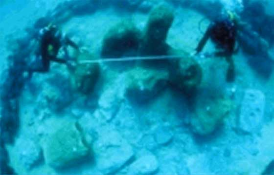 Ancient Cities and Megalithic Sites Underwater  Atlit_yam2