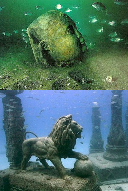 Ancient Cities and Megalithic Sites Underwater  CleopatraPalace