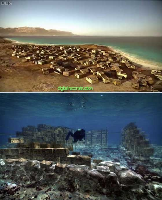 Ancient Cities and Megalithic Sites Underwater  Pavlopetri
