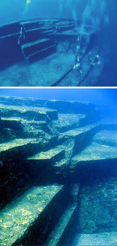 Ancient Cities and Megalithic Sites Underwater  Yonaguni