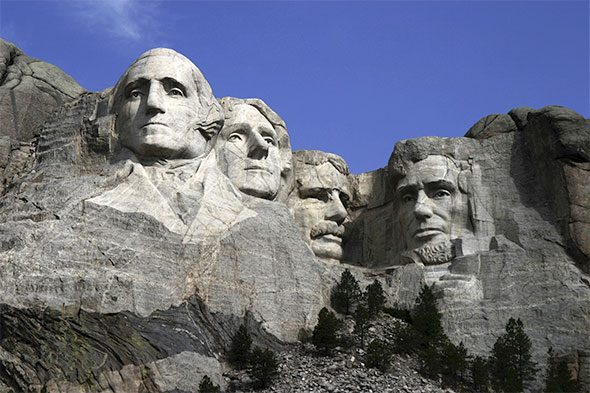 Post image for Colossal Sculptures – Mount Rushmore