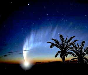 Post image for First evidence of comet striking Earth believed found in Egypt