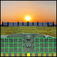 Post image for The Gate of the Sun Calendar from Ancient Tiwanacu
