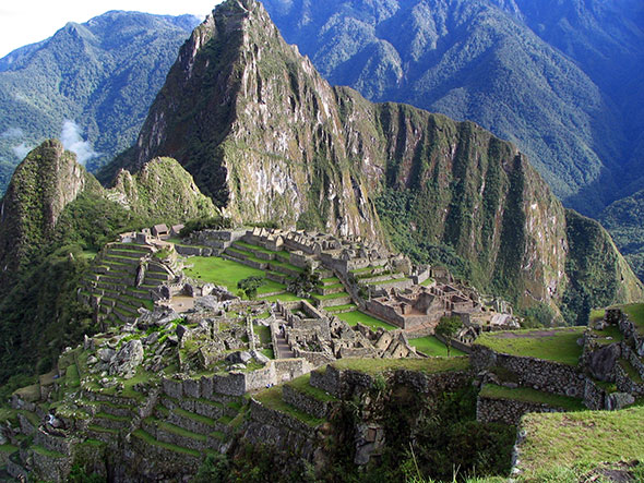 Post image for Machu Picchu's  E.T Connection
