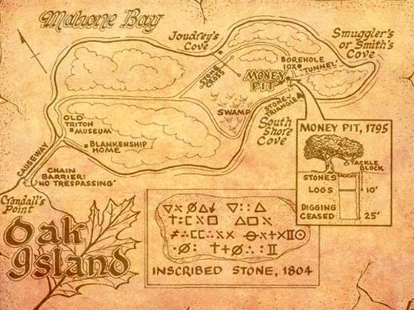 Oak Island Treasure Pit Unsolved Mystery