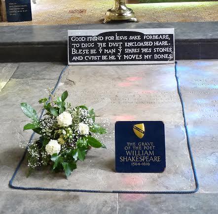 Shakespeare's accursed tomb