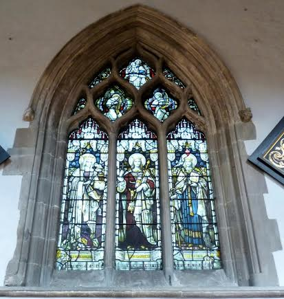 St Margarets window, Stratford church