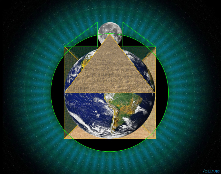 Pyramid-Earth-Square