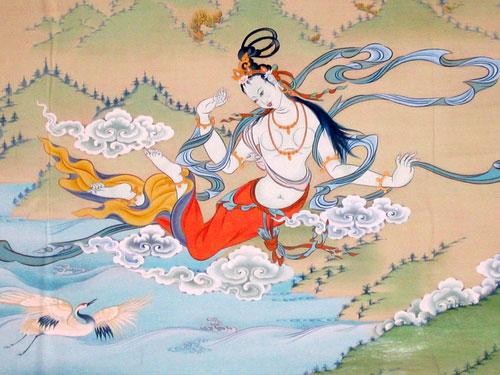 Tibetan-Dakini