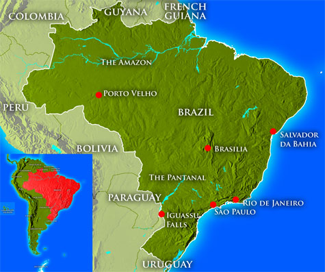 Brazils mysterious past world mysteries blog map of brazil gumiabroncs Choice Image