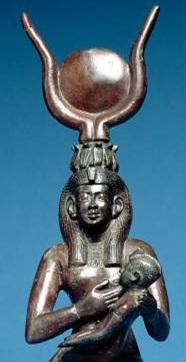 Isis-suckling-Horus