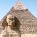 Sphinx is much older than the Pyramids!