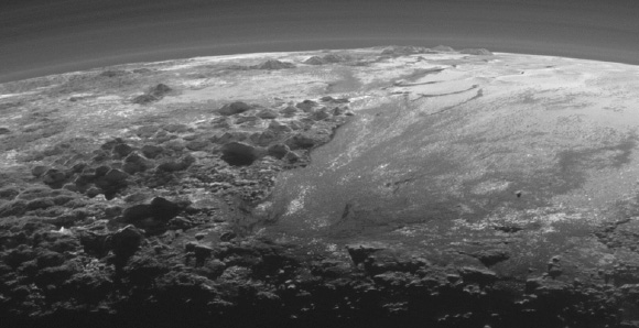 Cities on Pluto ?  by TS Caladan PL3