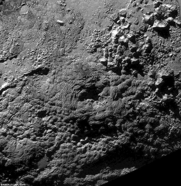 Cities on Pluto ?  by TS Caladan Pl1