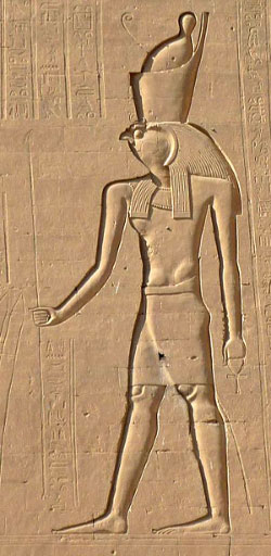 Egyptian-god-of-war-Horus