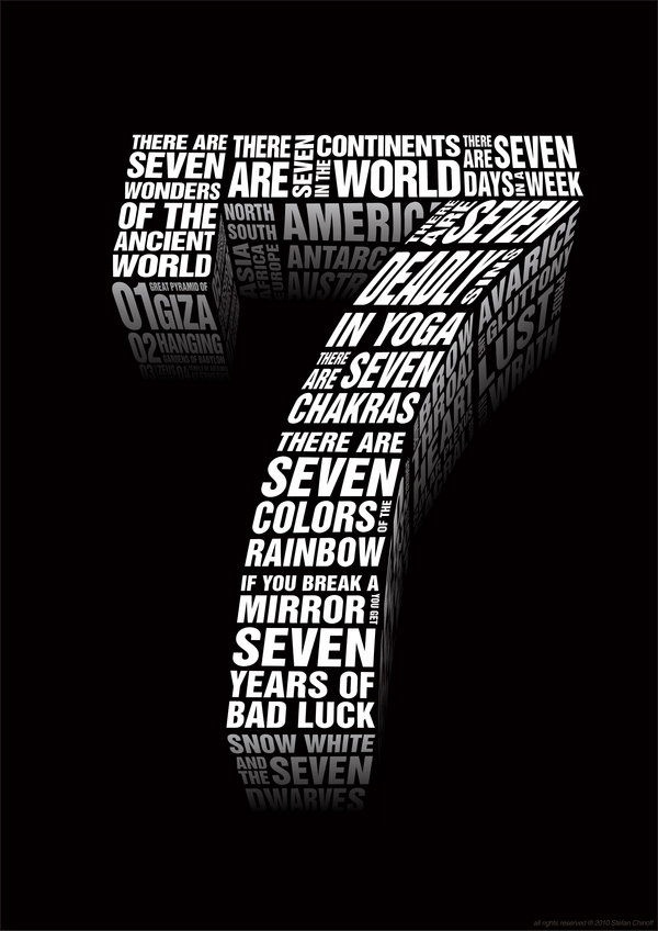 Significance of the number 7
